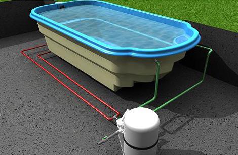 Budowa basenu for Polyester zwembad plaatsen